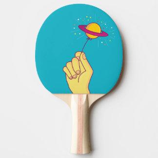 Saturn-Lutscher-Ballon Tischtennis Schläger