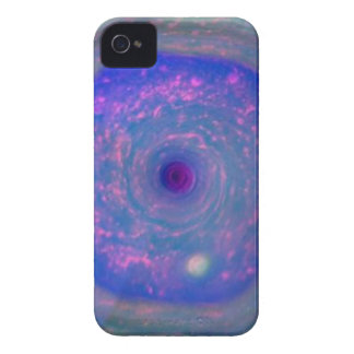Saturns sechseckiger Sturm iPhone 4 Hülle