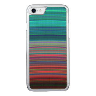 Saturns ultraviolette Ringe Carved iPhone 8/7 Hülle