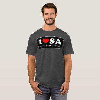 SATX POR VIDA I Liebe San Antonio T-Shirt
