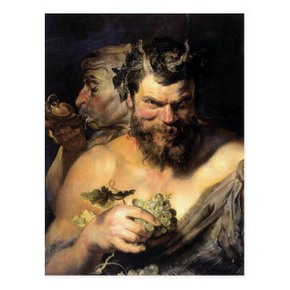 Satyr - Satan - Rubens Postkarte