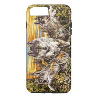 Satz des Wolflaufens iPhone 8 Plus/7 Plus Hülle