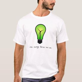 Saubere Energie-Birne - das Shirt der Männer