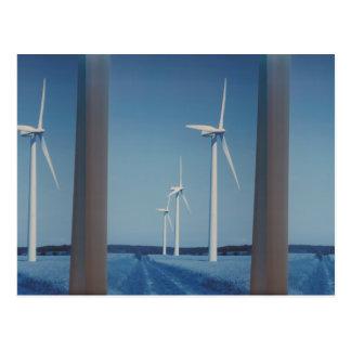 SAUBERE Energie-Wind, Solarnukleare saubere Postkarten