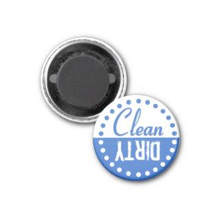 Sauberer und schmutziger Spülmaschinen-Magnet Runder Magnet 2,5 Cm