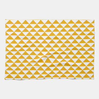 sauberes Dreiecksenfdruck-Tee-Geschirrtuch Handtuch