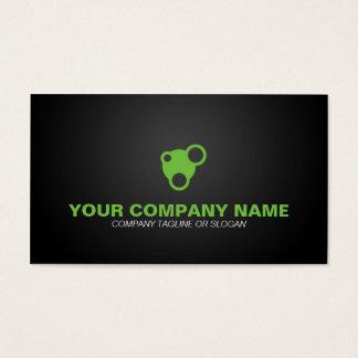 Säubern Sie Grün Visitenkarte