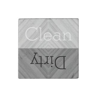 Säubern Sie   schmutzige Geschirr-Spülmaschine Steinmagnet