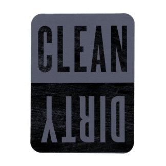 Säubern Sie | schmutzigen Vinyl Magnete