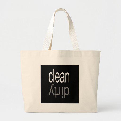 Säubern Sie,/schmutziger Spülmaschinen-Magnet Taschen