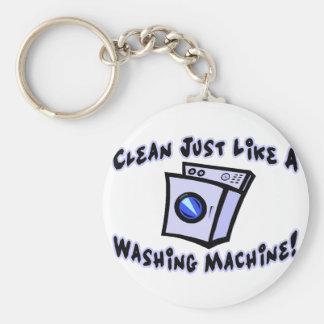 Säubern Sie wie eine Waschmaschine Schlüsselanhänger