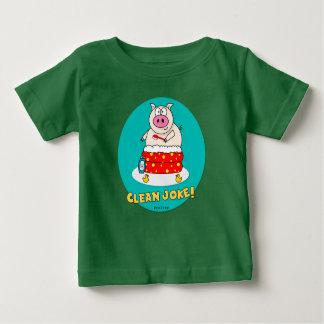 Säubern Sie Witz Baby T-shirt