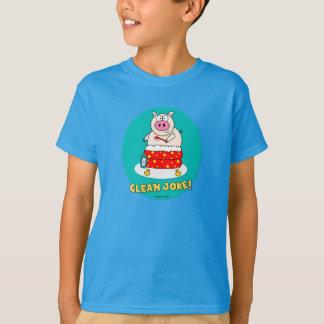 Säubern Sie Witz T-Shirt