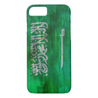 Saudi-Arabien beunruhigte saudi-arabische Flagge iPhone 8/7 Hülle