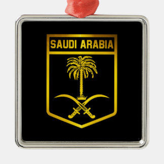 Saudi-Arabien Emblem Silbernes Ornament