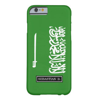 Saudi-Arabien Flagge Barely There iPhone 6 Hülle