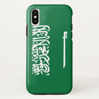 Saudi-Arabien Flagge iPhone X Hülle