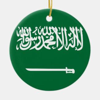 Saudi-Arabien Flagge Keramik Ornament