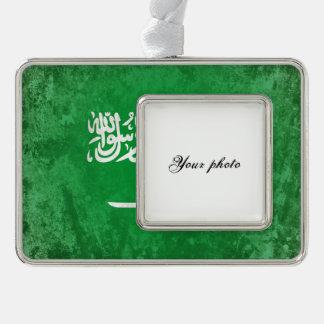 Saudi-Arabien Rahmen-Ornament Silber