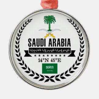 Saudi-Arabien Silbernes Ornament