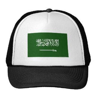 Saudischer Flaggenandenkenhut Truckercap