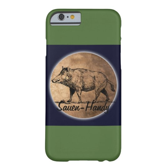 Sauen-Handy Barely There iPhone 6 Hülle
