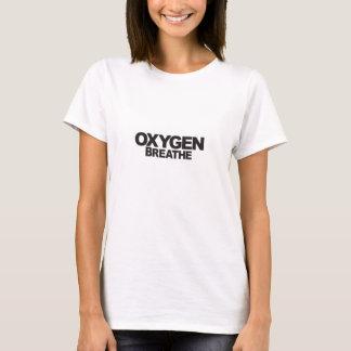 Sauerstoff - der grundlegende T - Shirt der Frau