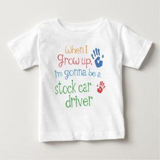 Säuglings-Baby-T - Shirt Auto-des auf