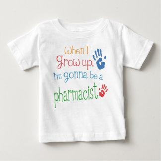 Säuglings-Baby-T - Shirt des Apotheker-(Zukunft)