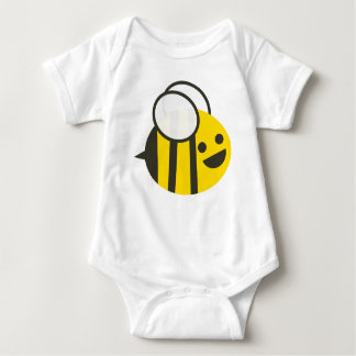 Säuglings-durchmogelndes Hummel-Bienen-T-Stück Baby Strampler
