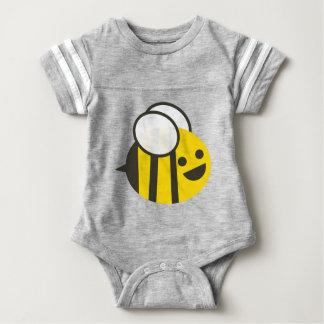 Säuglings-graues durchmogelndes baby strampler