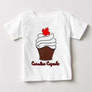 Säuglings-kanadisches Kuchen-T-Stück Baby T-shirt