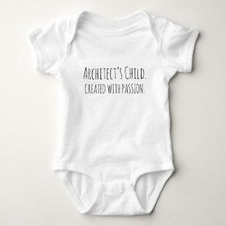 Säuglings-Strampler das KIND   DES ARCHITEKTEN! Baby Strampler
