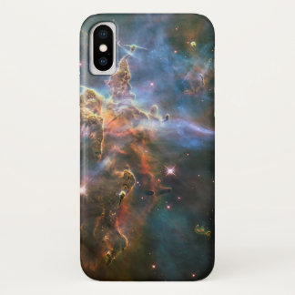 Säule und Jets: Carina-Nebelfleck iPhone X Hülle