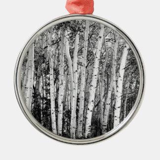 Säulen der Wildnis Silbernes Ornament