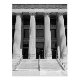 Säulen des Engels Hall Postkarte