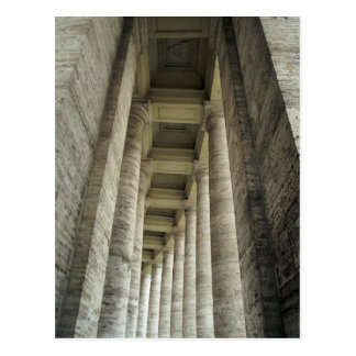 Säulen von Vatikan Postkarte