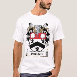 Saunders-Familienwappen T-Shirt