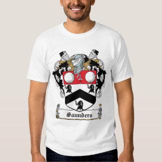 Saunders-Familienwappen T Shirts