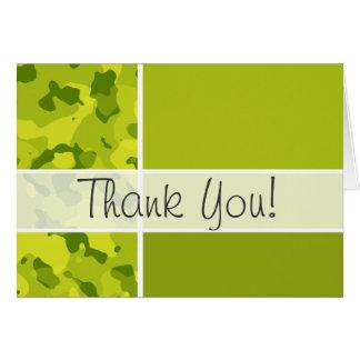 Saure grüne Camouflage; Tarnung; Personalisiert Karte