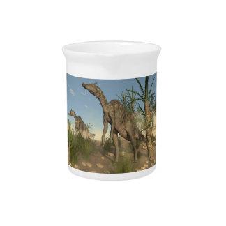 Saurolophus Dinosaurier - 3D übertragen Getränke Pitcher