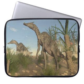 Saurolophus Dinosaurier - 3D übertragen Laptopschutzhülle