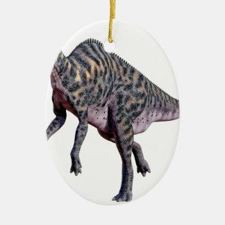 Saurolophus Dinosaurier Keramik Ornament