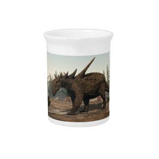 Sauropelta Dinosaurier - 3D übertragen Krug
