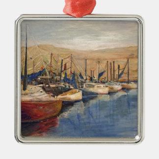 Sausalito Silbernes Ornament