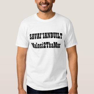 SAVAI'IANBUILT Malosi2ThaMax Shirt