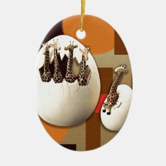 Savanne-Art Keramik Ornament