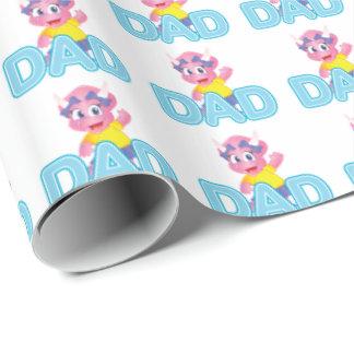 Savanne-Dino-Packpapier für Vati Geschenkpapier