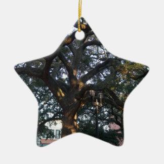 Savanne-Eiche Keramik Ornament