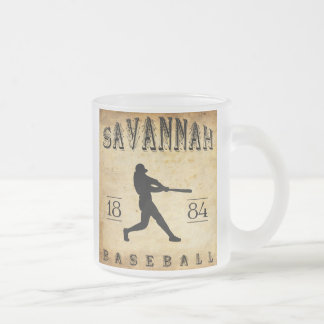 Savanne-Georgia-Baseball 1884 Mattglastasse